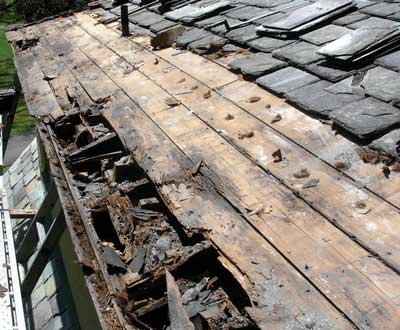 Rotting-Roof-Deck-Toronto-Roofing