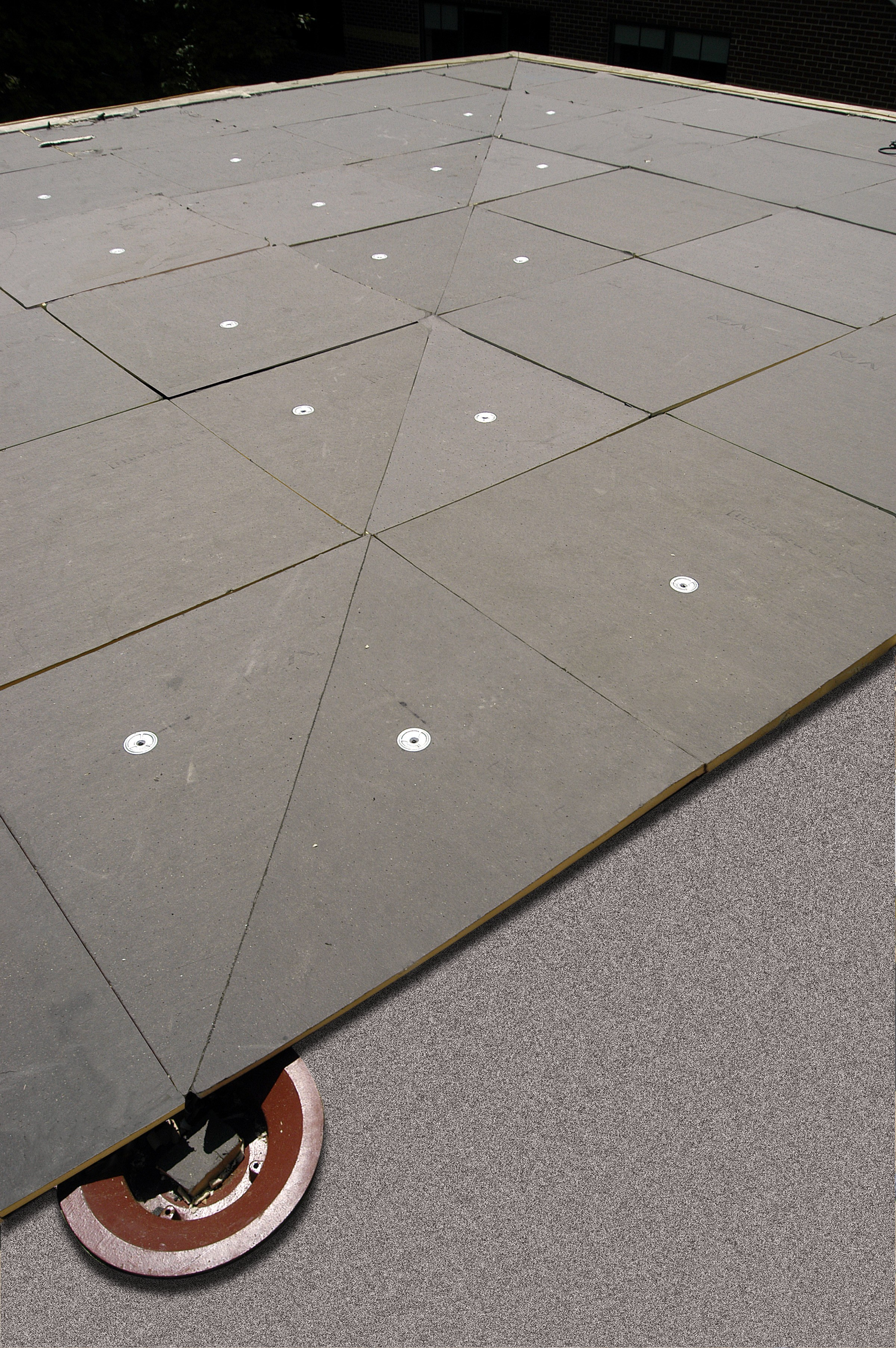 Tapered insulation for flat roofing - Tapee d isolation ...