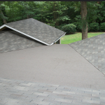 Toronto roofing flat roof modified bitumen asphalt shingles soprema