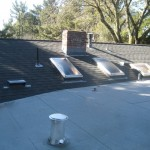 Toronto roofing flat roof modified bitumen soprema asphalt shingles skylight chimney