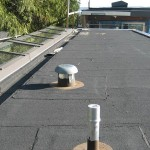 Toronto roofing flat roof modified bitumen soprema skylights skylight