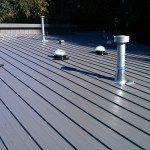 Toronto Roofing roof installation aluminum metal edco arrowline standing seam sun tunnel