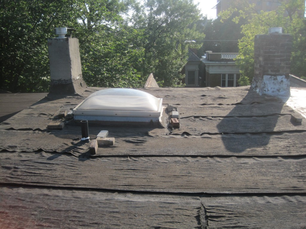 Toronto-Roofing-lack-of-maitnance-flat-roof-repair