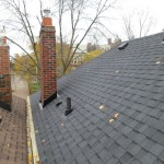 Toronto roofing asphalt shingle roof heritage cabbagetown forest hill annex rosedale chimney