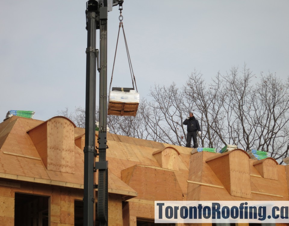 Toronto, roofing, burlington, lakeshore, roof, custom, home, sloped, flat, asphalt, shingles, modified, bitumen, torch, down, hot, applied, rooftop, drop, boom, material
