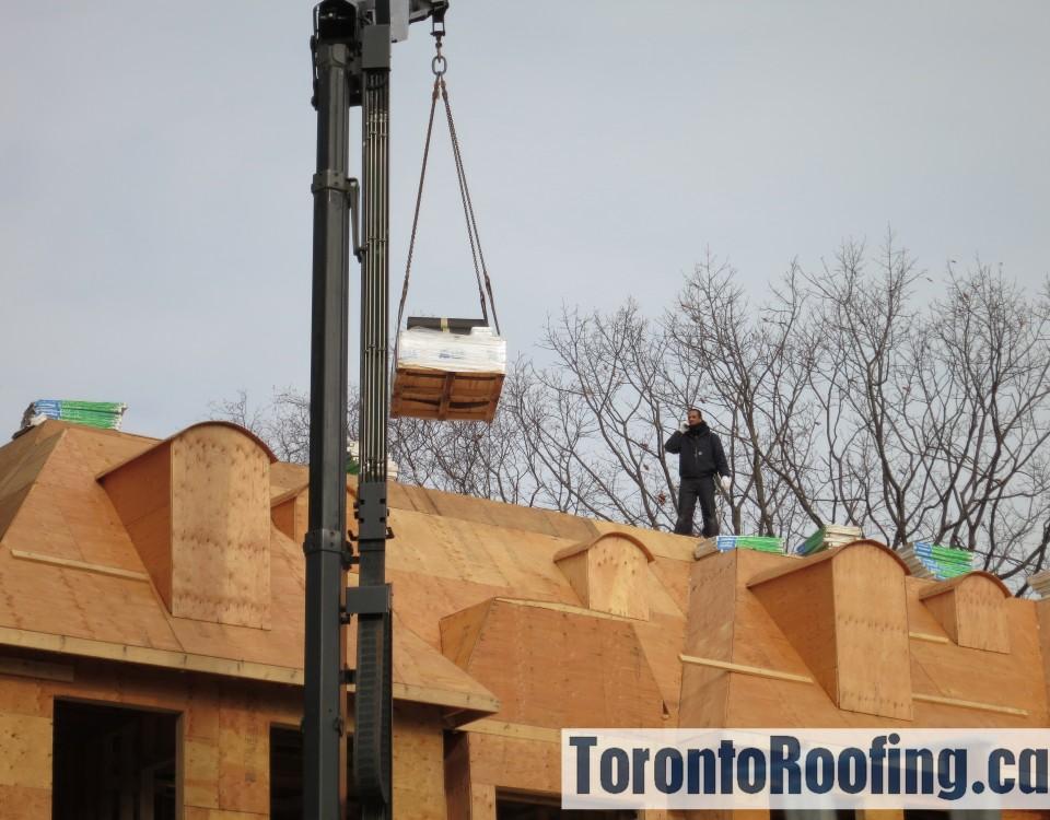 Toronto, roofing, burlington, lakeshore, roof, custom, home, sloped, flat, asphalt, shingles, modified, bitumen, torch, down, hot, applied, rooftop, drop, boom, material