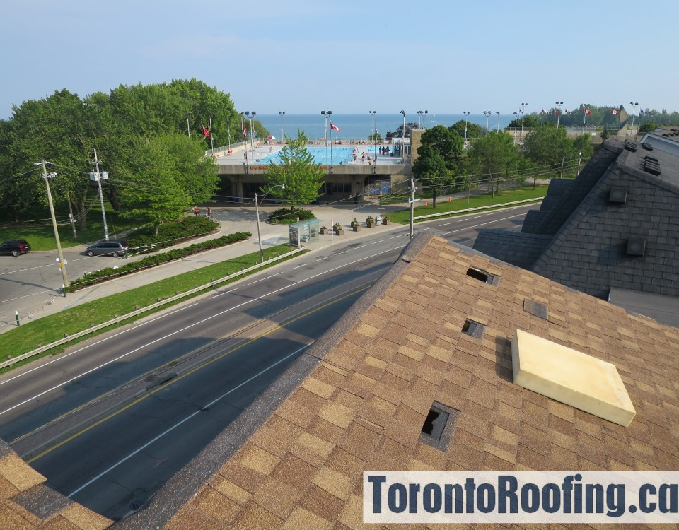 Toronto, roofing, shingle, sloped, beaches, the beach, asphalt, shingles, roof, leak, certainteed, repair