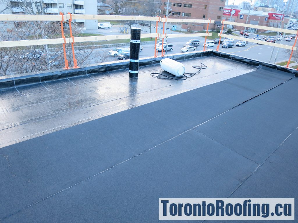Flat Roof Warehouse : Tapered insulation for flat roofing torontoroofing