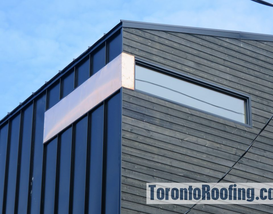 Toronto,roofing,roof,siding,metal,copper,wood,modern home,,metal,cladding,aluminum,architecture, building,contractor