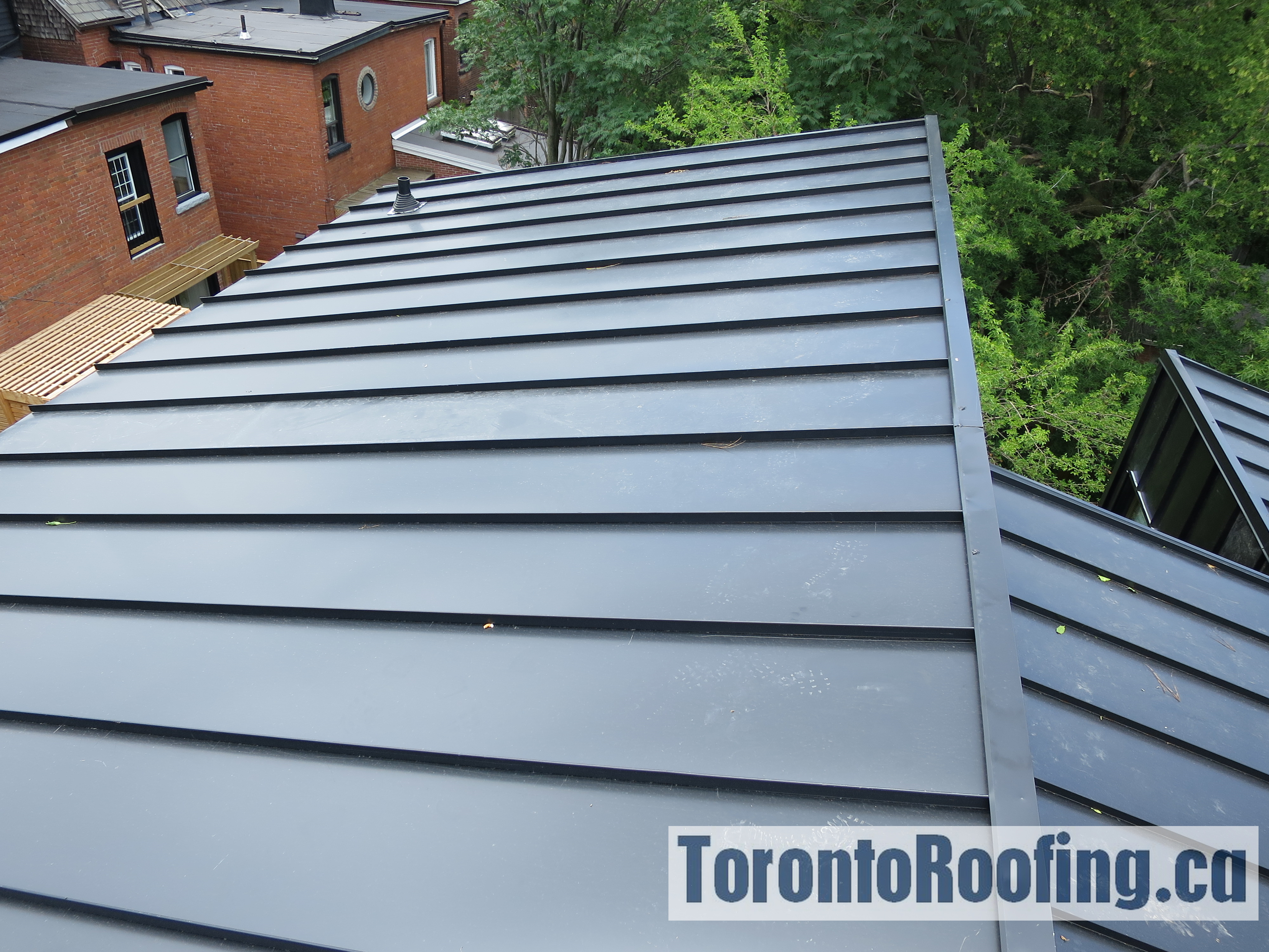 Standing Seam Galvanized Metal Roofing