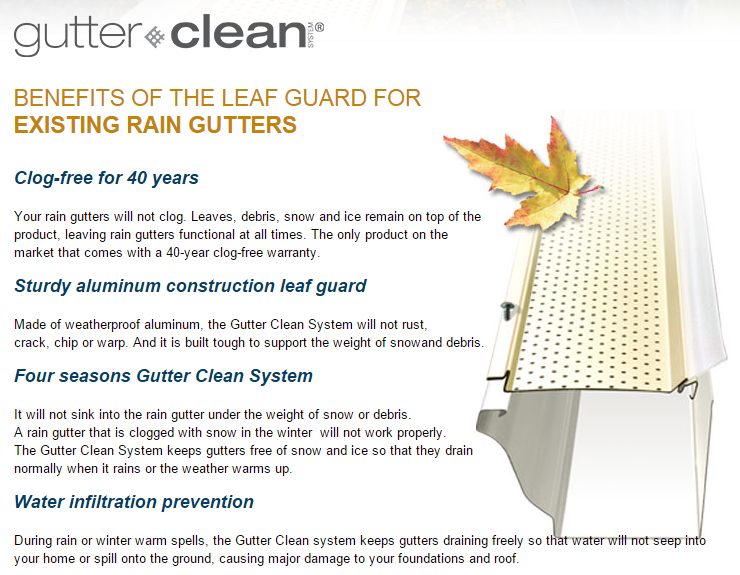Gutter Guard Smart Screen Torontoroofing Ca