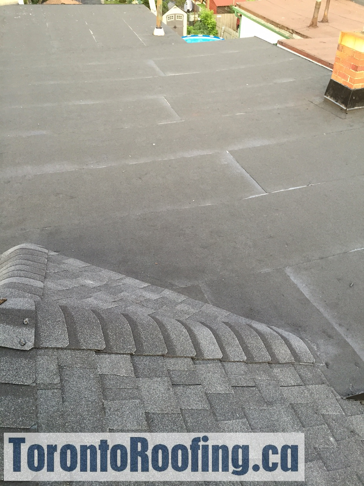 2 Ply Modified Bitumen Flat Roofing Membrane System