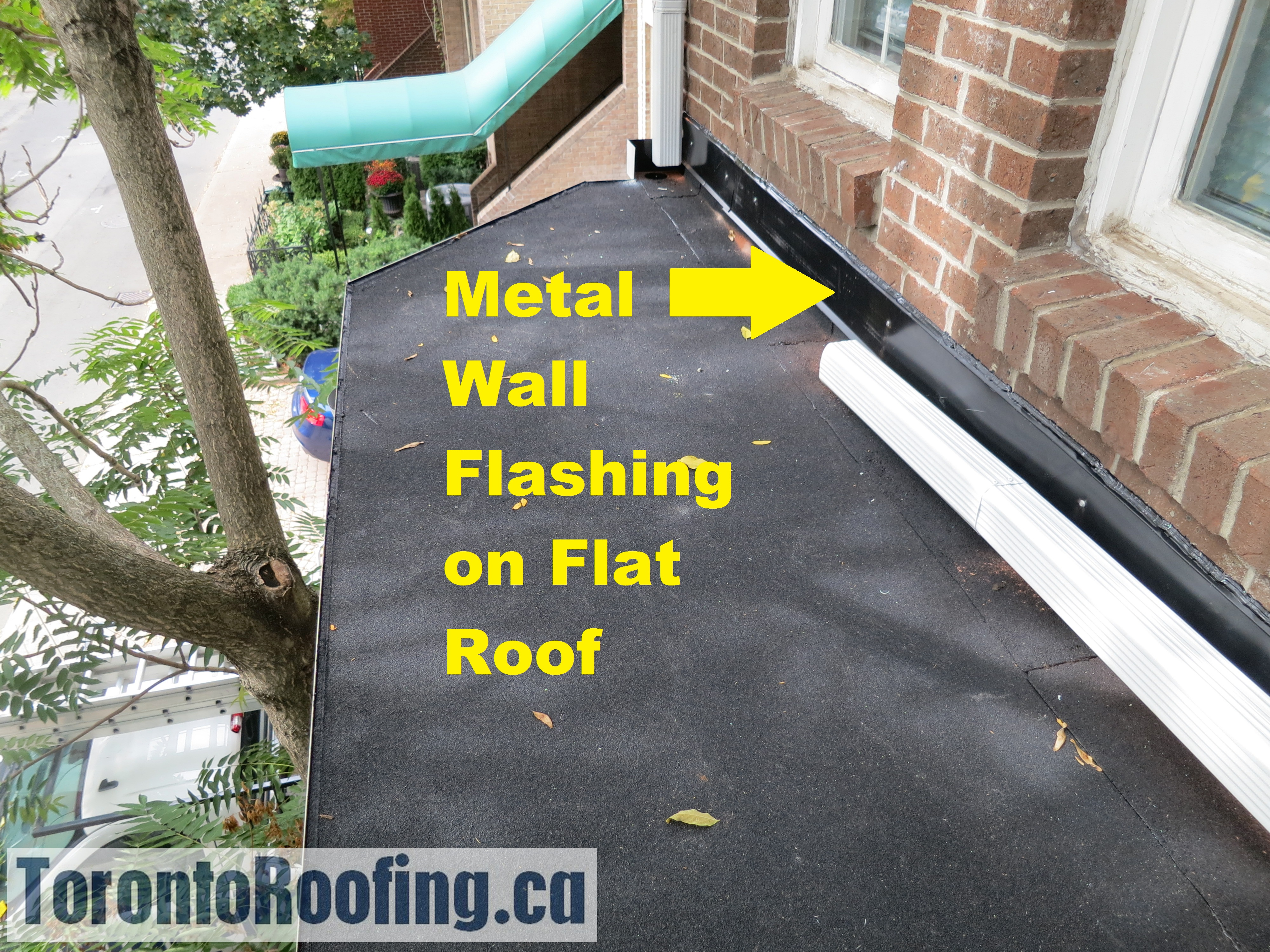 Toronto roofing flat roof modified bitumen skylight flashing gutters eavestrough shingles ice water shield grace flashing flat roof diagram roofing custom metal flashing torontoroofing ca