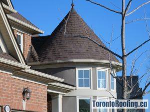 Architectural Asphalt Shingles On Roof In Lorne Park