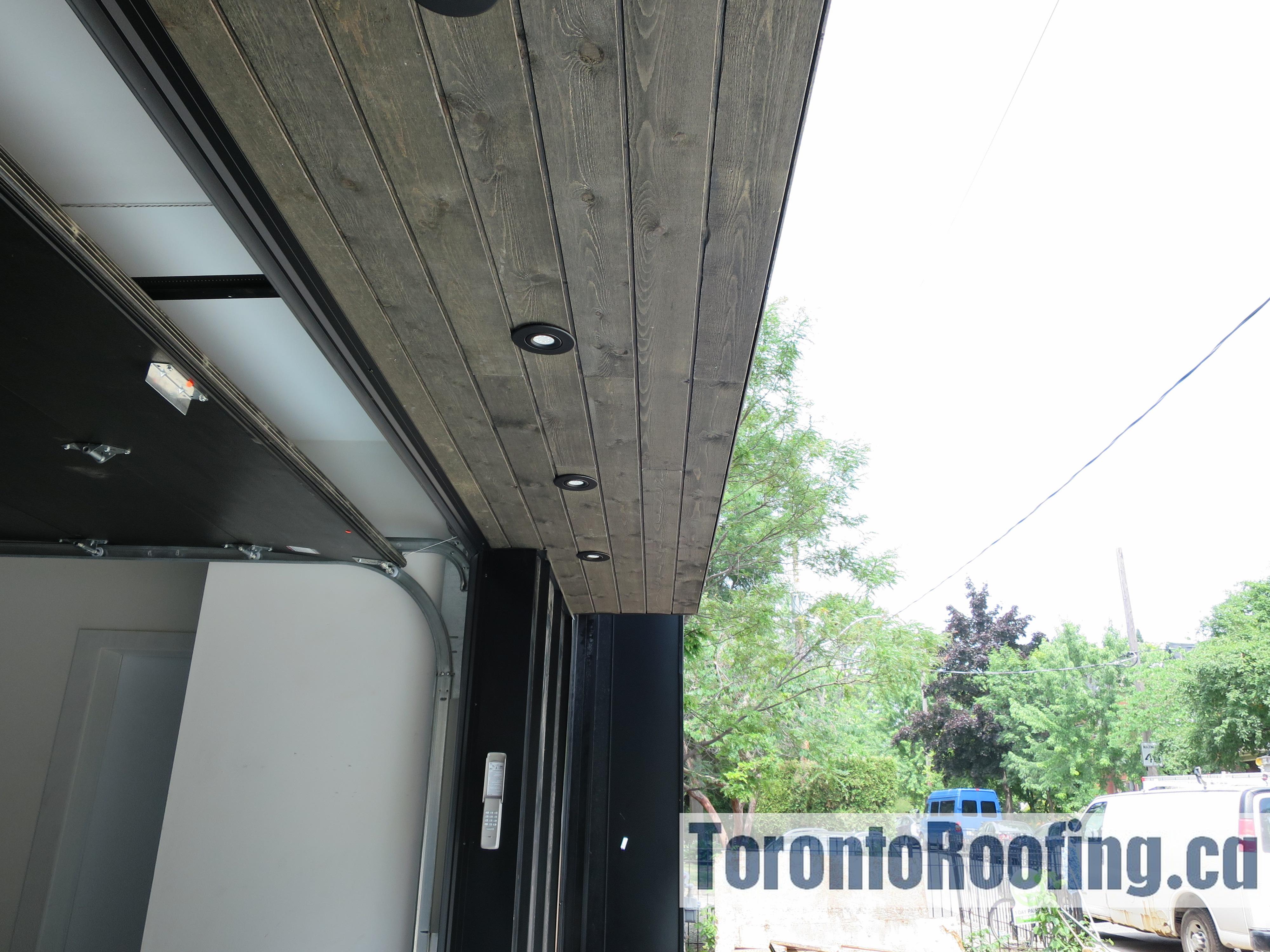 Modern Home Metal Cladding Toronto Roofing