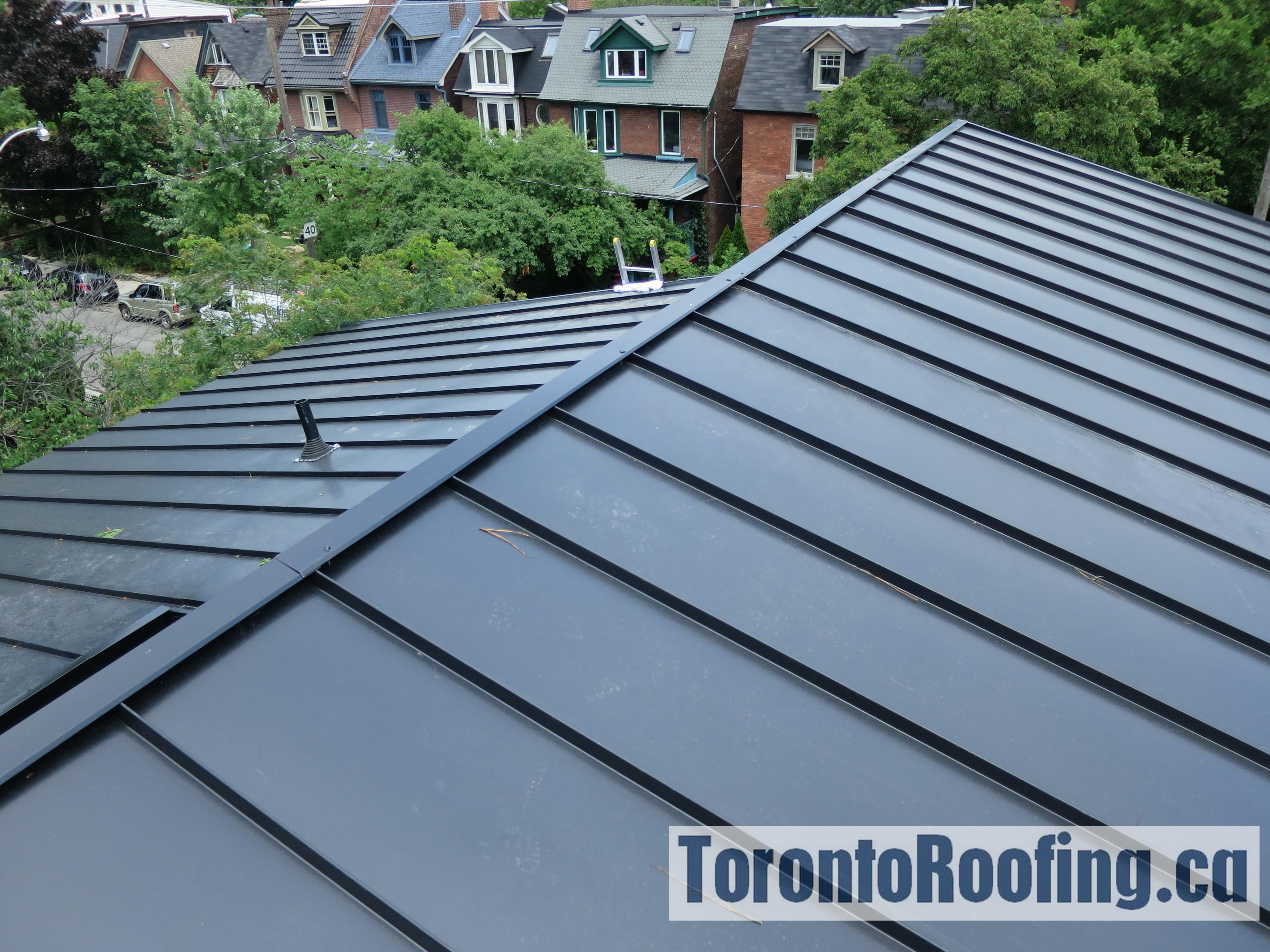 Standing Seam Metal Roofing Torontoroofing Ca